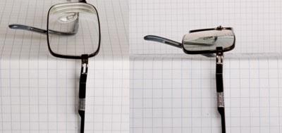 Verbogen pootjes bril