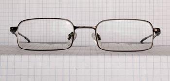 Voorkant bril