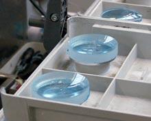 fabricage brillenglas transport