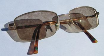 Vlekkerige meekleurende glazen