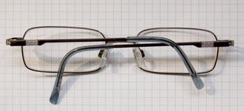 Achterkant bril