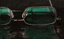 bril met ontspiegelings coating